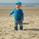 Na een bezoek aan het AMC zijn we doorgereden naar het strand.