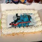 en een geweldig mooie taart van THOMAS!!!