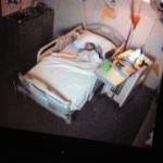 Ondanks de lange dag slaapt Joris heerlijk, slaap lekker kanjer!